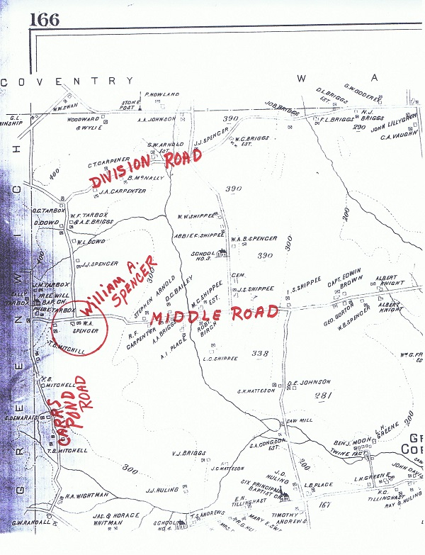 map-w-a-spencer-middle-road-e-g-library